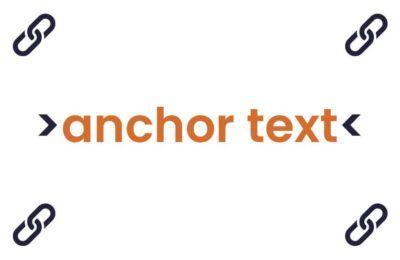 Co je anchor text