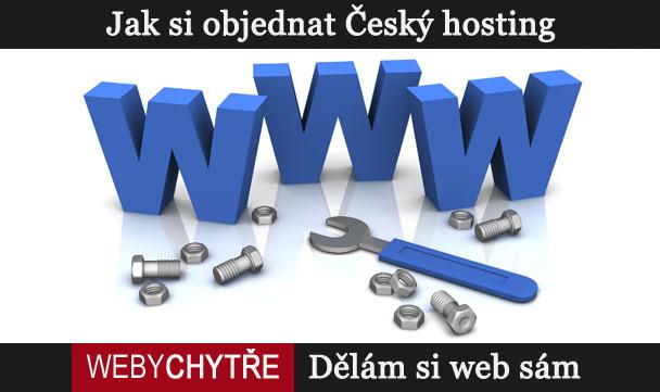 Jak si objednat Český hosting