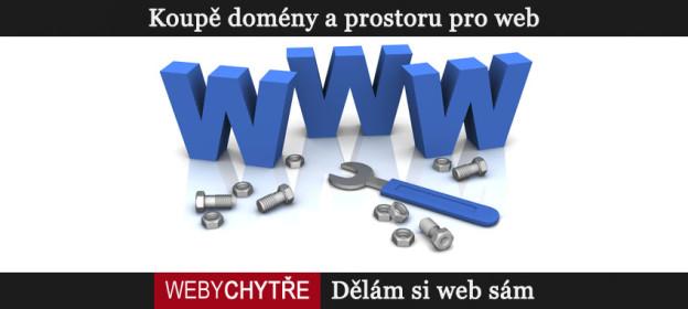 Dělám si web sám, díl 1. Doména a webhosting