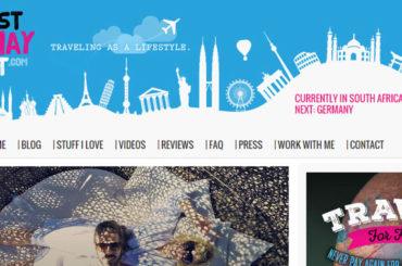 Web cestovatelky Sabriny vydělává 50.000 korun měsíčně
